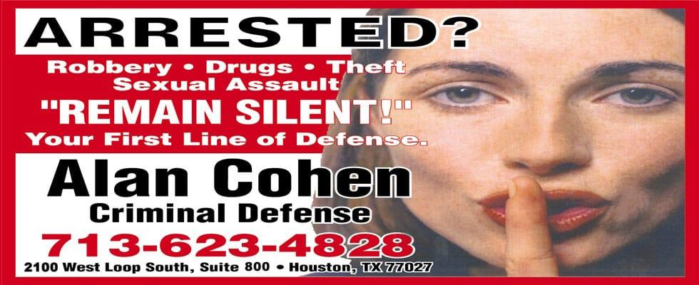 Arrested? Remain silent!